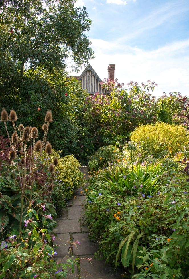 AUTUMN IN THE SUNKEN GARDEN AT DIXTER
